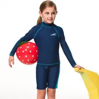 【SAIN SOU】兒童兩截式水母衣(男女適用A80603-02)