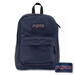 【JANSPORT】SUPERBREAK系列後背包(深藍 JS-43501)