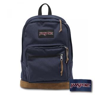 【JANSPORT】校園後背包RIGHT PACK系列(深藍)