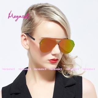 【MEGASOL】電影明星同款UV400偏光太陽眼鏡(卡地亞手工同款MS0518G)