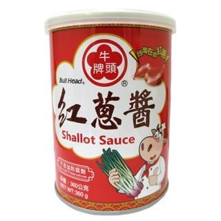 【牛頭牌】紅蔥醬360g