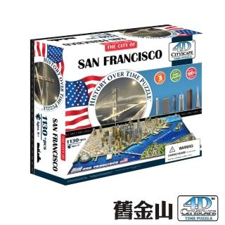 【4D Cityscape】4D 立體城市拼圖(舊金山)