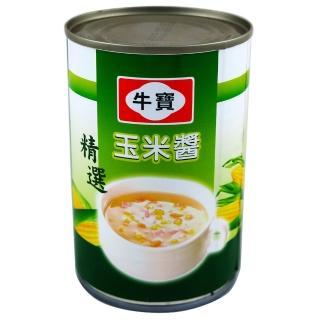 【牛寶】小玉米醬410g