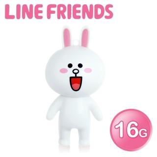 【LINE FRIENDS】16GB 立體造型隨身碟-兔兔(WH-LN223C-速達)