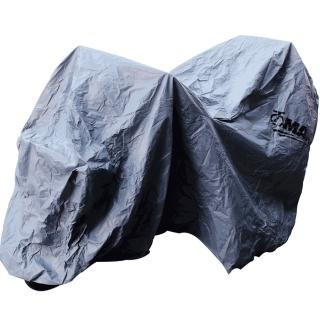 【omax】蓋方便防水防塵重機車罩-2XL(有行李箱款-12H)