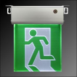 【台灣製】小型1:1LED緊急出口標示燈(9213)