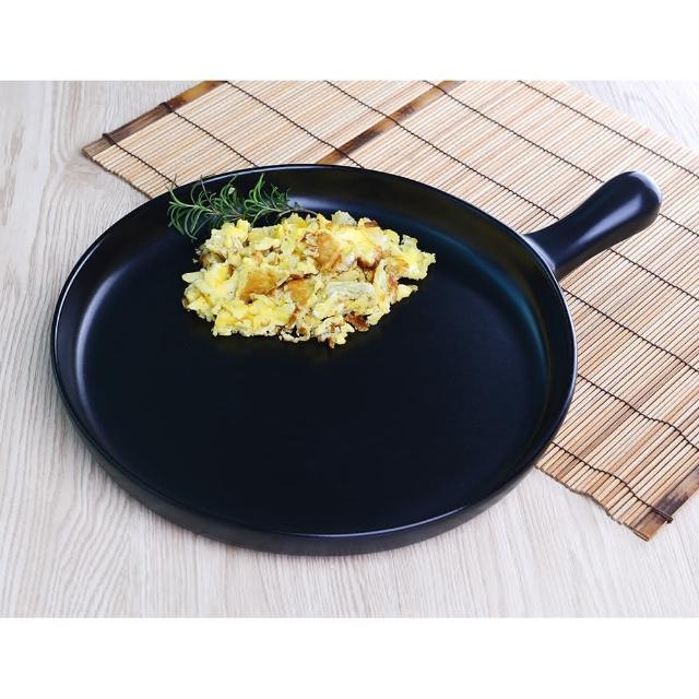 【五福窯】MIT 微笑標章 奈米易潔 陶瓷煎盤(206)