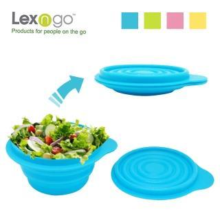 ~LEXNFANT~含蓋摺疊碗~小^(餐盒 碗盤 廚具 便當^)