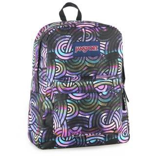 【JanSport】校園背包-SUPER BREAK(五花八門)