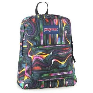 【JanSport】校園背包-SUPER BREAK(黑洞頻率)
