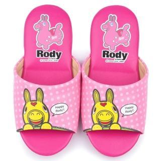 【童鞋城堡】RODY跳跳馬 中大童 室內拖鞋(RD2312-粉)