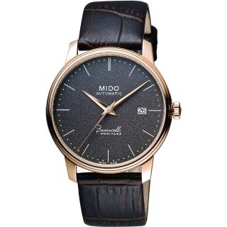 【MIDO】Baroncelli III Heritage 復刻經典機械腕錶-41mm(M0274073608000)