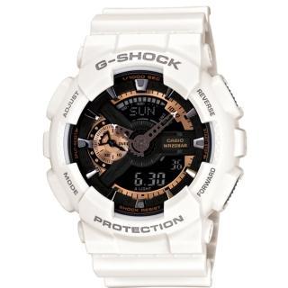 【CASIO G-SHOCK】重機帥氣運動腕錶(GA-110RG-7ADR)