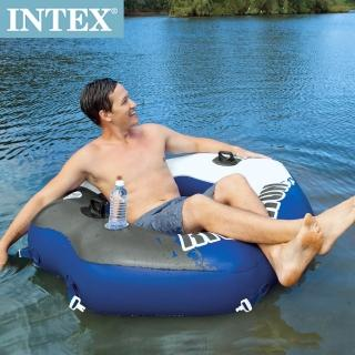 ~INTEX~可連接式水上充氣沙發椅RIVER RUN漂流躺椅^(58854^)