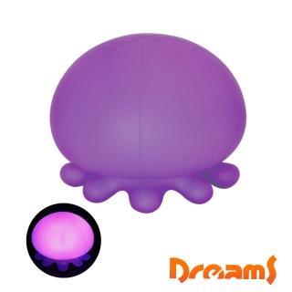【Dreams】大水母造型LED氣氛呼吸燈(紫)