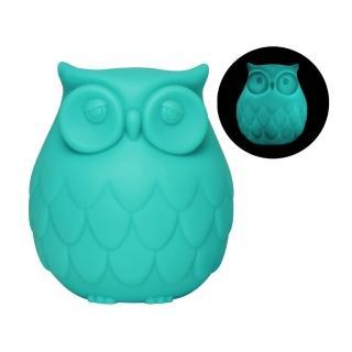 【Dreams】Owl 聰明貓頭鷹LED感應夜燈(藍)