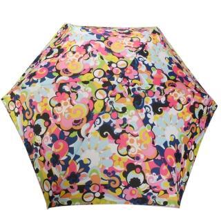 【LeSportsac】繽紛花卉輕便摺疊傘(彩色)