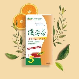 【BIOline星譜生技】沛立康纖姿茶(36包/盒)