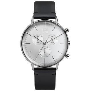 【ZOOM】REFINE 純粹經典計時腕錶(白 /44mm)