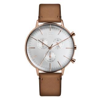 【ZOOM】REFINE 純粹經典計時腕錶(玫瑰金 /44mm)