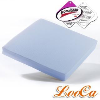 ~ ~LooCa吸濕排汗釋壓座墊^(藍色~1入^)
