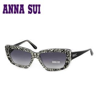 【Anna Sui】日本安娜蘇 魔幻時尚立體精雕造型太陽眼鏡(黑色-AS52601)