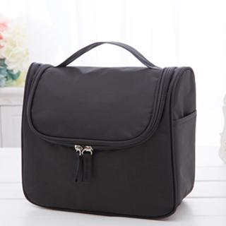 【iSFun】旅行專用*可掛加厚大容量盥洗包/黑
