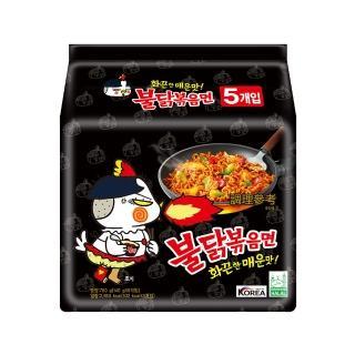 【Samyang三養】火辣雞肉風味鐵板炒麵(台灣總代理 韓國原裝進口 世界排名第二辣)