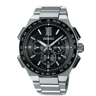 【SEIKO 精工】BRIGHTZ 太陽能電波奢華時尚男用腕錶(42mm/8B92-0AF0D)