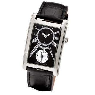 ~CONSTANT 康斯登~Carree二地時間顯示手腕錶^(FC~205BS4C26^)