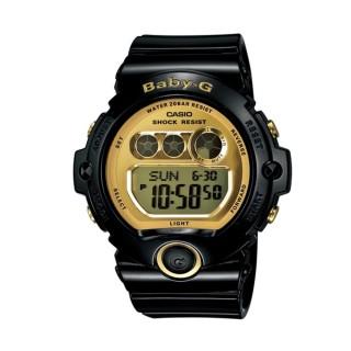 【CASIO/BABY-G】甜美魅力黑金流行運動錶(BG-6901-1DR)