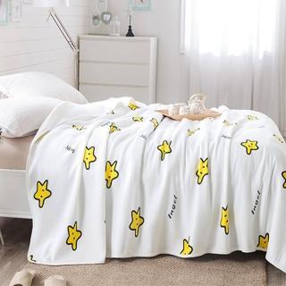 【Betrise】天竺棉針織舒適透氣涼被-150*200cm(星夢)
