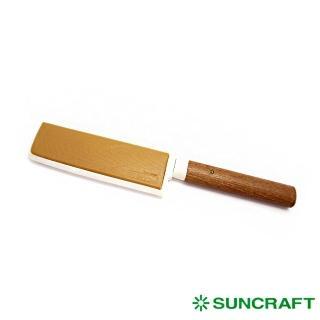 【日本川山鳥 SUNCRAFT】可攜式水果刀-方-附刀套(水果刀)