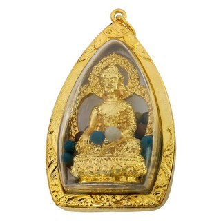 【十相自在】6.5公分 小佛像/法像 甘露佛龕掛墜吊飾(釋迦牟尼佛)