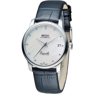 【MIDO】Baroncelli LADY III 永恆系列復刻優雅機械腕錶(M0272071610600)