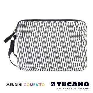 【TUCANO X MENDINI】設計師系列輕量手拿包(白)