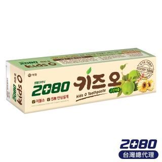 【韓國2080】有機蘋果兒童牙膏(100gX2入)