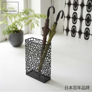 【YAMAZAKI】鳥巢造型傘架(黑)