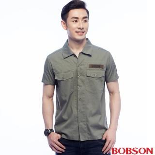 【BOBSON】男款軍裝式襯衫(25004-41)