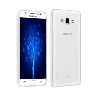 【Samsung】Galaxy J7 高質感雙料材質(透明TPU+PC手機殼/保護套)