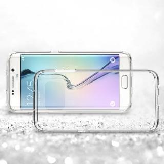 【Samsung】Galaxy S7 edge 高質感雙料材質(透明TPU+PC手機殼/保護套)
