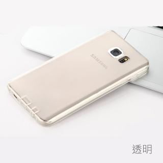 【Samsung】Galaxy Note 5 高質感雙料材質(透明TPU+PC手機殼/保護套)