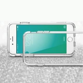【Apple】iPhone 6/6s高質感雙料材質(透明TPU+PC手機殼/保護套)