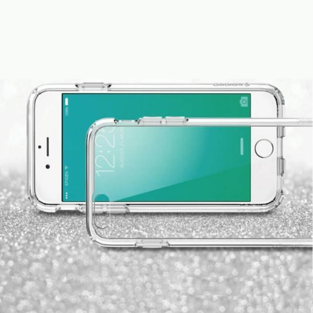 【Apple】iPhone 6-6s高質感雙料材質(透明TPU+PC手機殼-保護套)