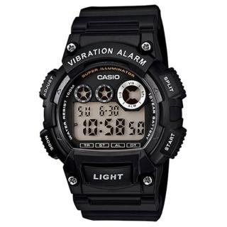 【CASIO】專業級震動潮流電子錶(W-735H-1A)