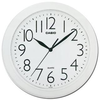 【CASIO】清晰數字典藏圓形掛鐘(IQ-01S-7)