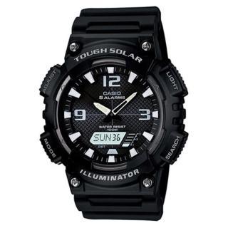 【CASIO】頂級戶外太陽能電力運動雙顯錶(AQ-S810W-1A)