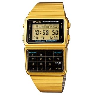 【CASIO】頂級酒桶型小秘書計算機概念錶(DBC-611G-1A)