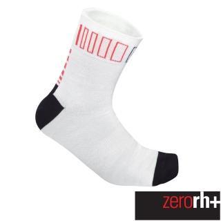 【ZeroRH+】義大利SPRINT高筒運動襪-13cm(黑/紅、白色 ECX9086)