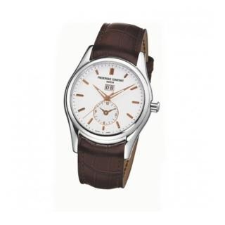 【CONSTANT 康斯登】雙時區自動機械腕錶(FC-325V6B6)